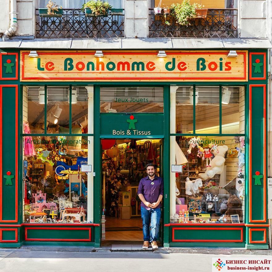 Искусство оформления витрин. Витрины в Париже.