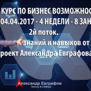 04 марта 2017 года – 05 апреля 2017 года. Самый полный базовый курс по бизнес возможностям ВКонтакте