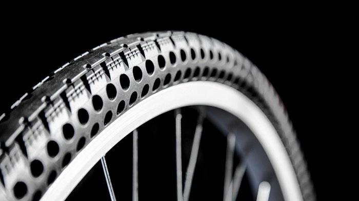 Шины для велосипеда, которые никогда не сдуются