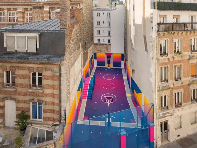 Баскетбольная площадка как способ изменить город к лучшему