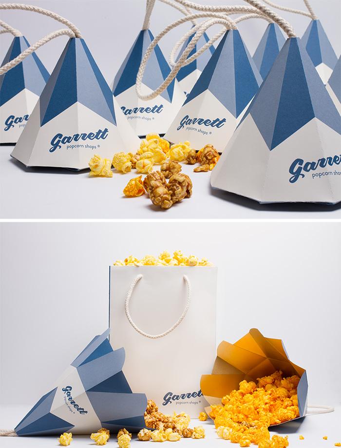 112. Упаковка для попкорна