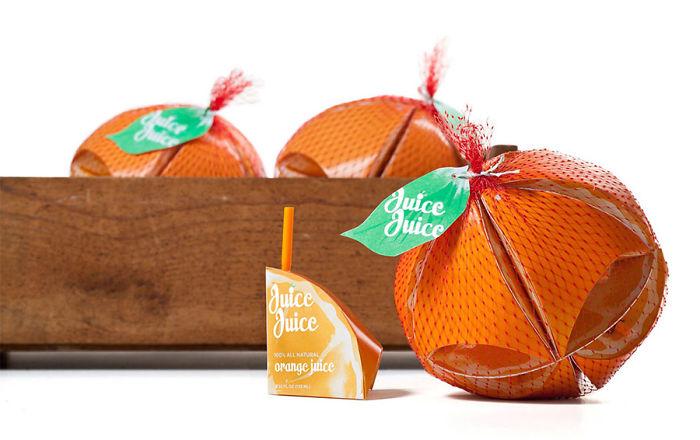 118. Упаковка апельсинового сока