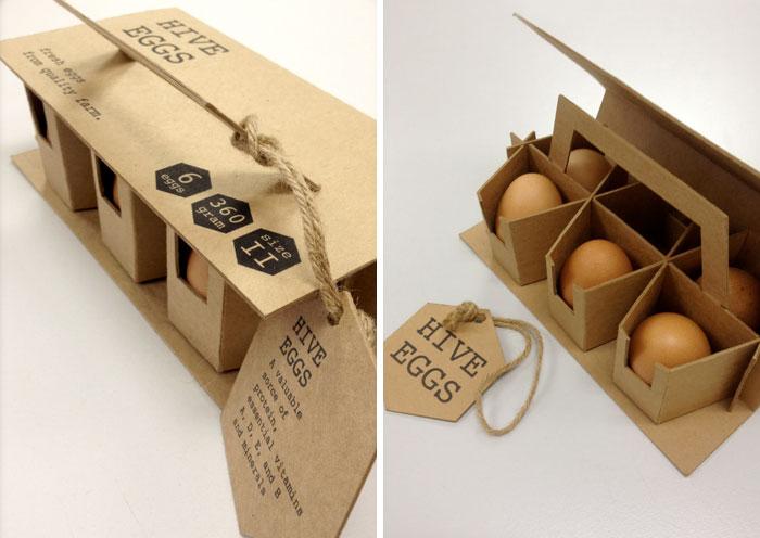 120. Оригинальная упаковка яиц