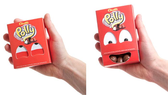 130. Игривая конфетная упаковка