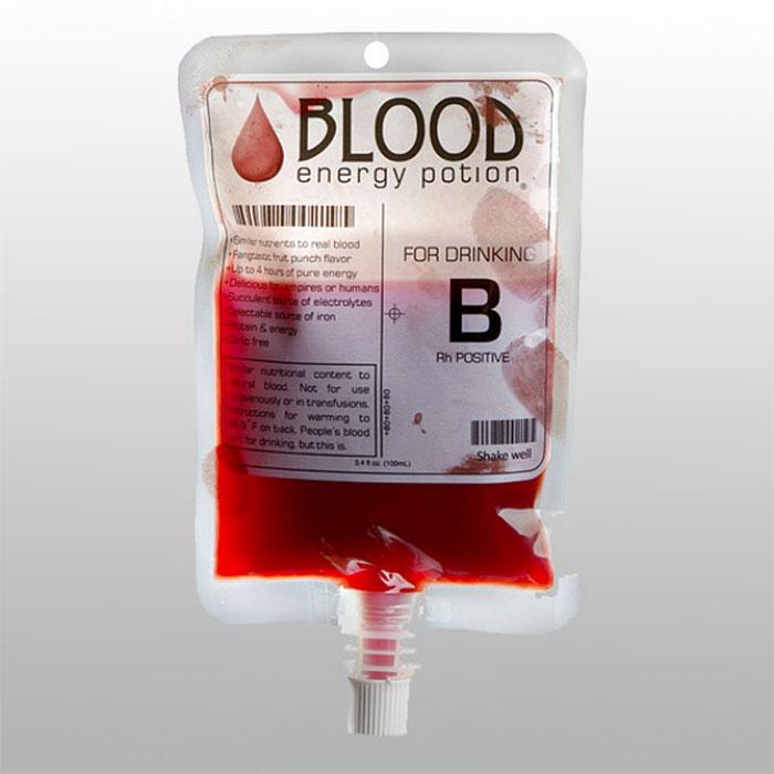 135. Энергетический напиток Кровь