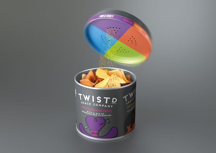 136. Упаковка картофельных чипов