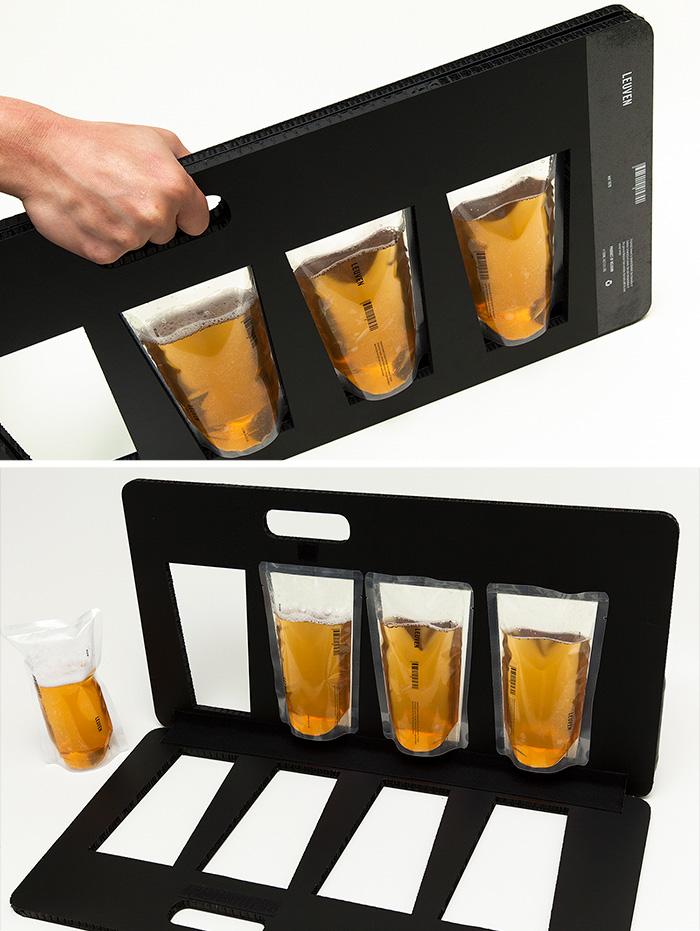 141. Переноска для упаковок с пивом
