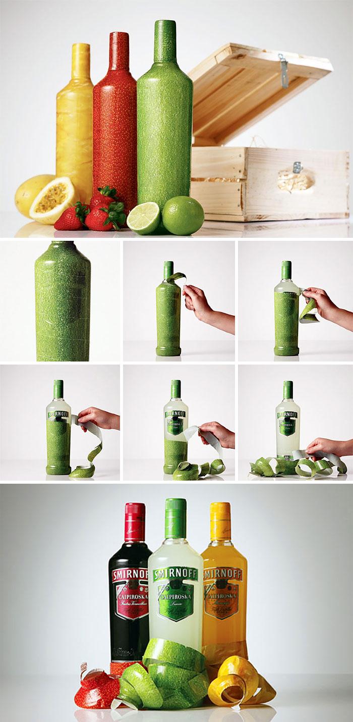142. Бутылки Smirnoff