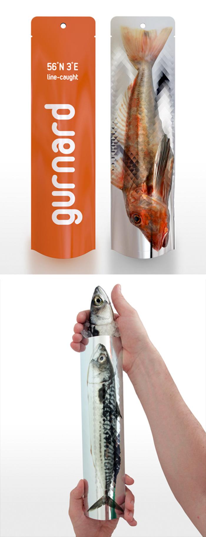 146. Упаковка для свежей рыбы