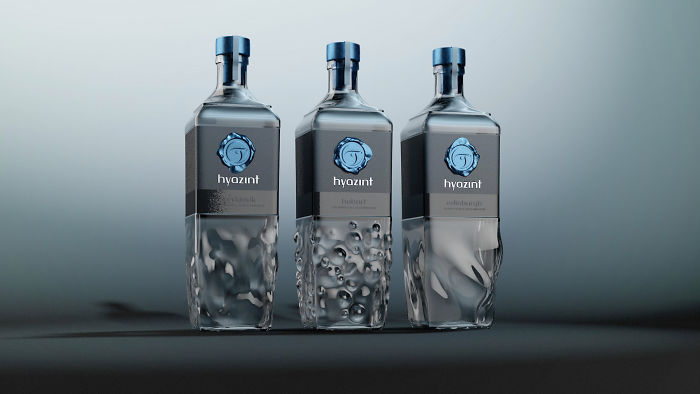 148. Оригинальные бутылки для минеральной воды