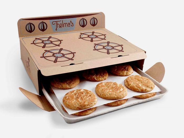 23. Упаковка для печенья в виде плиты