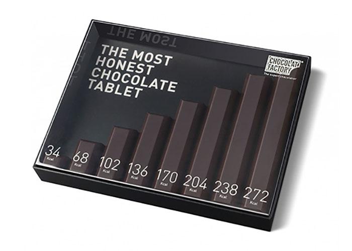 33. Самые честные плитки шоколада