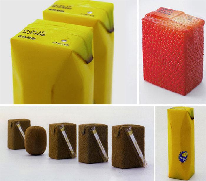 35. Упаковка для фруктового сока