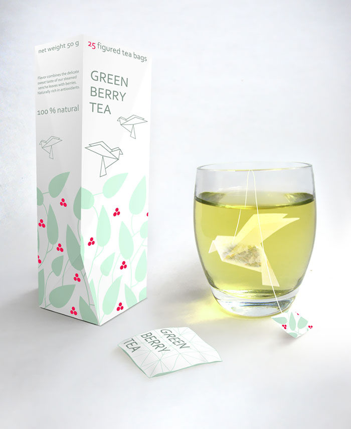 49. Зеленый ягодный чай