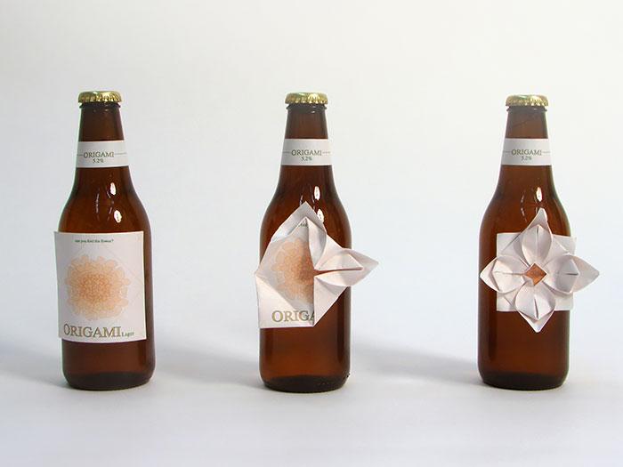 54. Пиво оригами