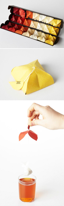 67. Открывающийся чайный пакетик