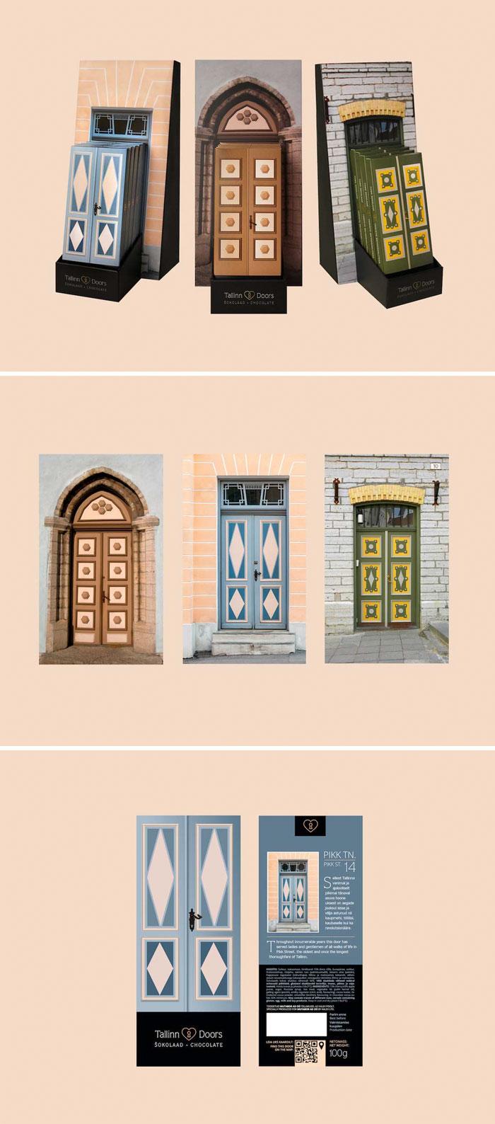 74. Шоколад Двери Таллинна