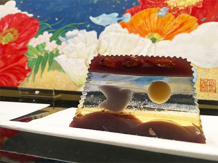 3D-рисунки в пирожных