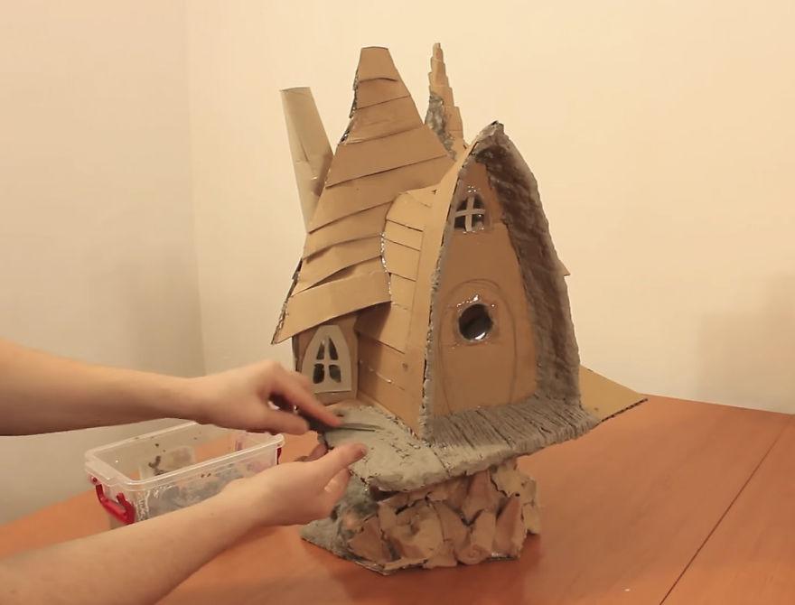 Мастер-класс: как сделать сказочный домик своими руками