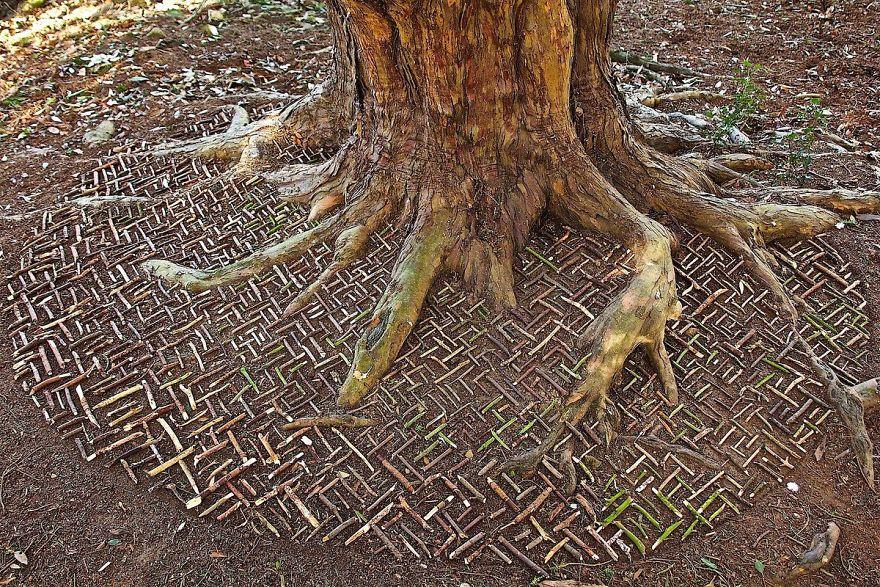 Мандалы на природе