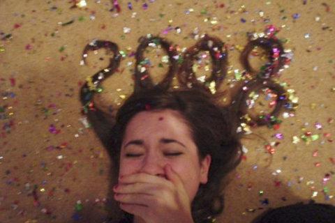 Новогодняя прическа как символ года