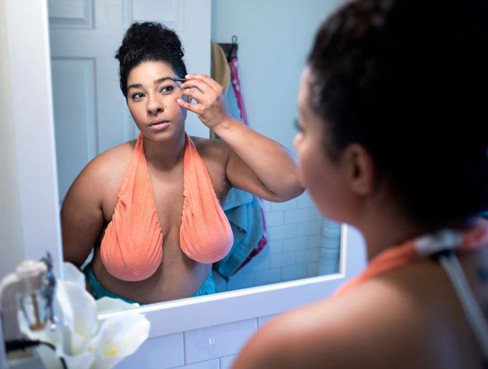 Полотенце-бюстгальтер – мечты женщин сбываются