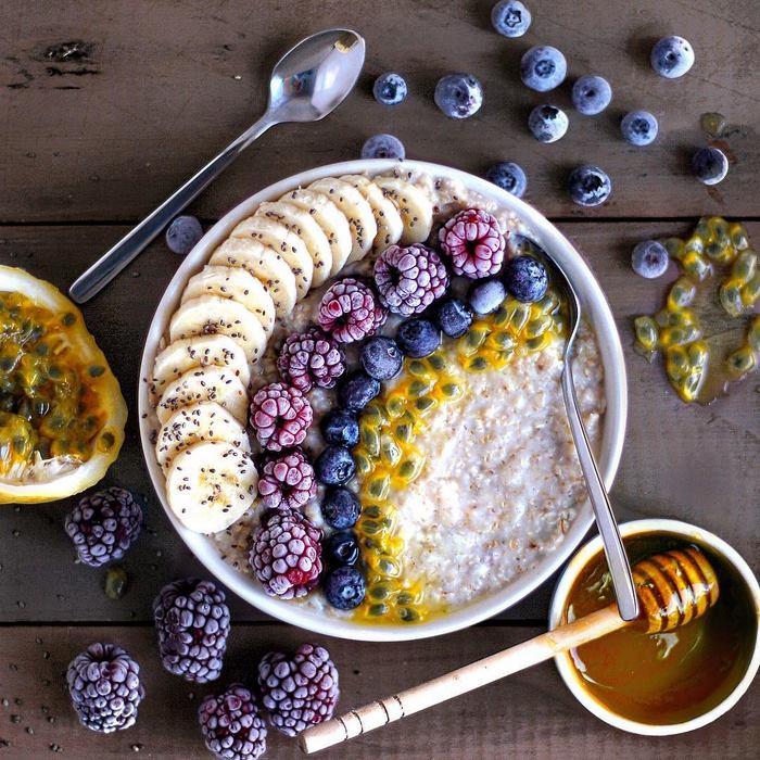Красивые завтраки и десерты для вегетарианцев