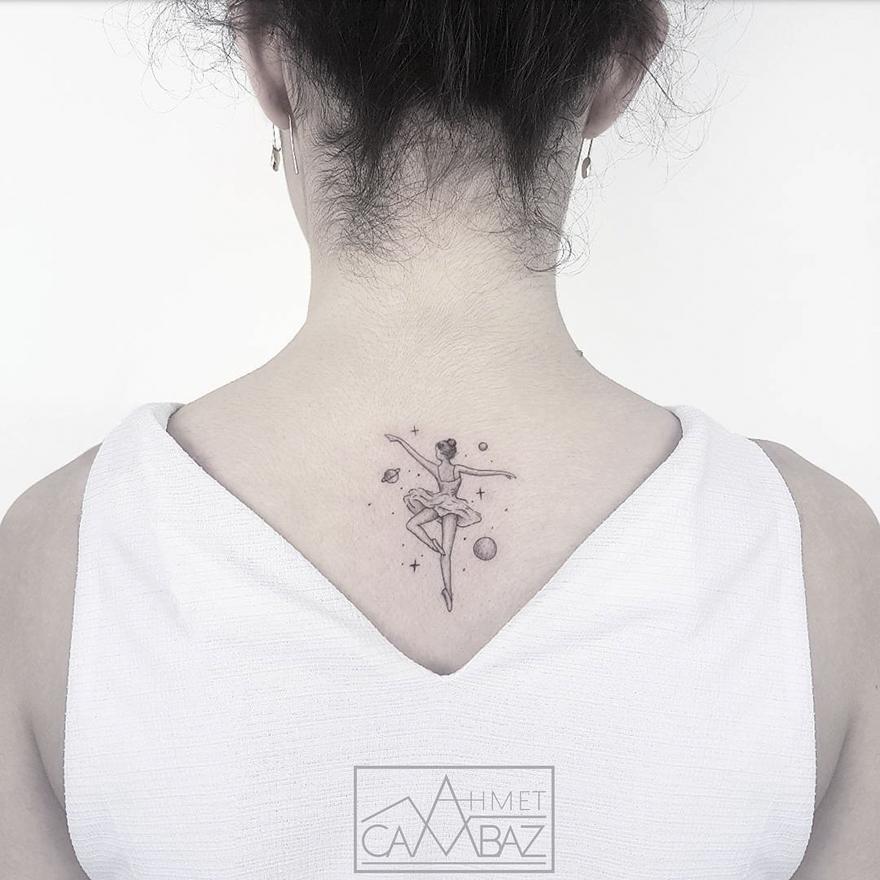Татуировки простые, но поразительные
