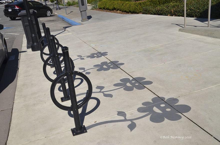 Нарисуйте тень, чтобы привлечь внимание