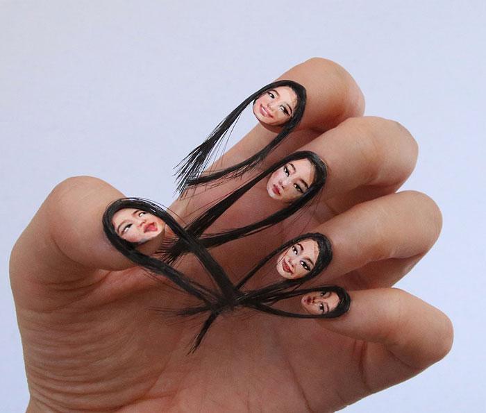 Волосатые ногти. Увы, это не кошмарный сон, это новый тренд