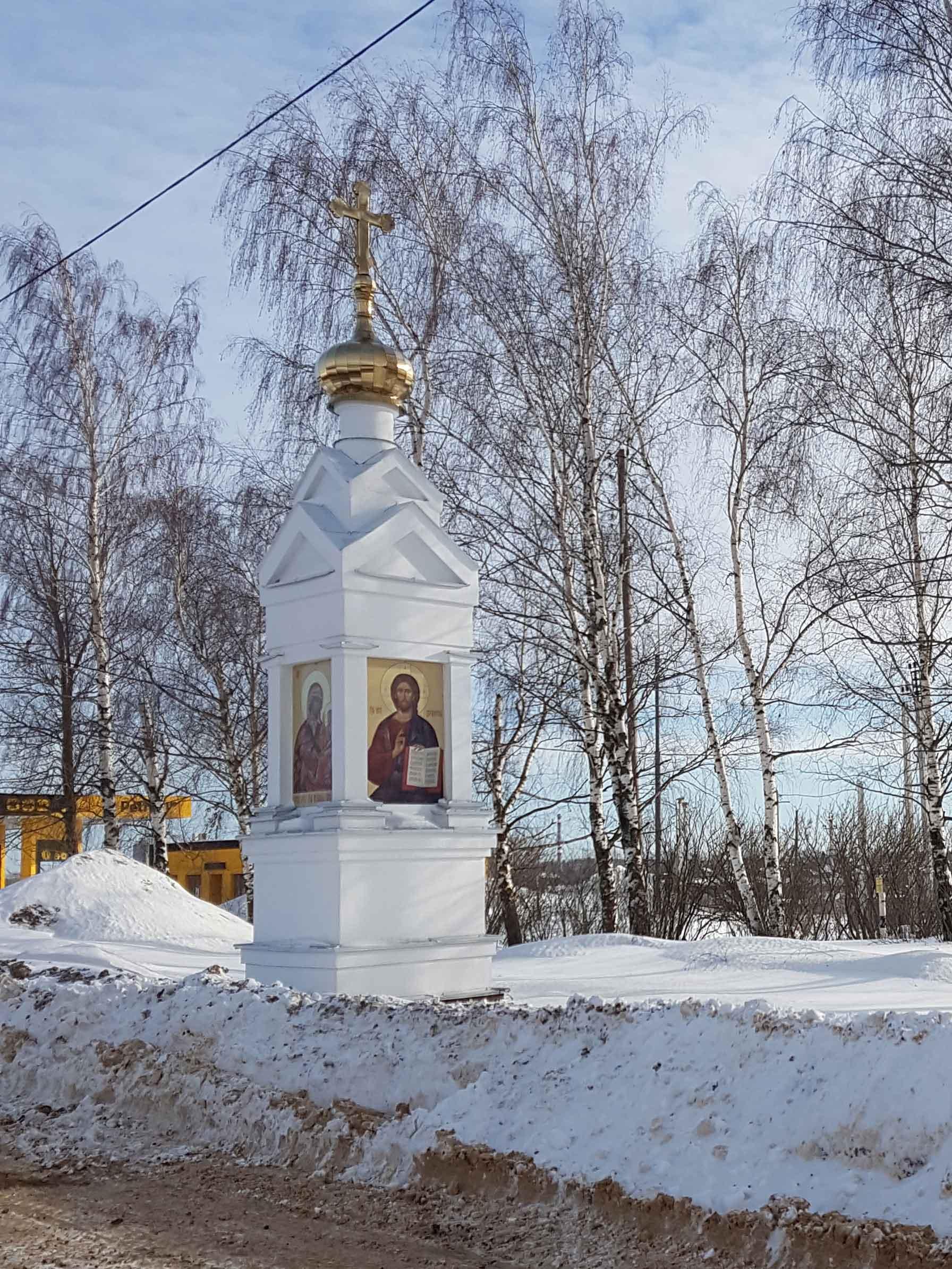 Часовенный столб. Ивановская область